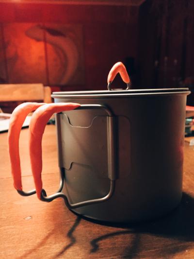 toaks titanium pot insulated