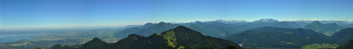 Trip to the Bavarian Alps: Kampenwand