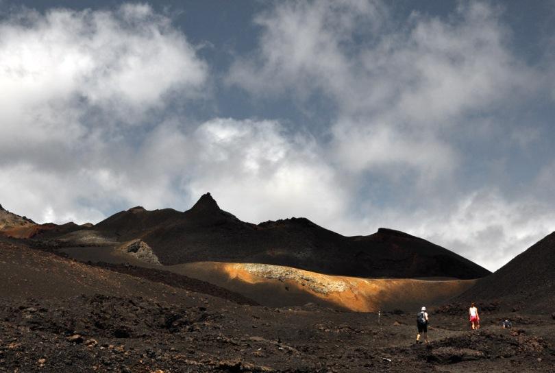 Hiking Volcano Sierra Negra Galapagos
