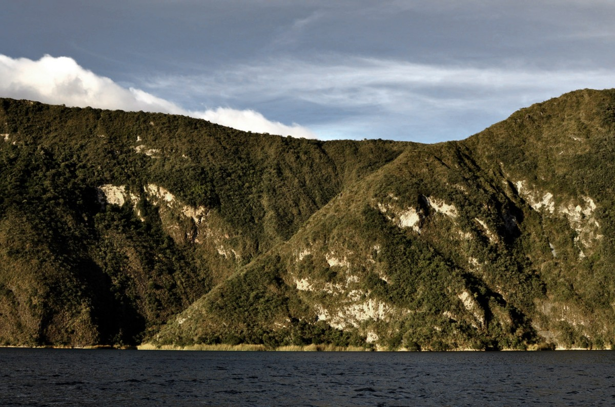 Cuicocha: A Twohundred Meters Deep Vulcanic Lake