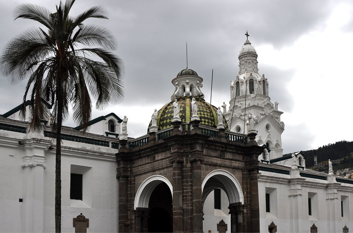 Quito: White City With Some Clouds