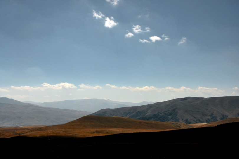 Mountains near Jermuk Armenia