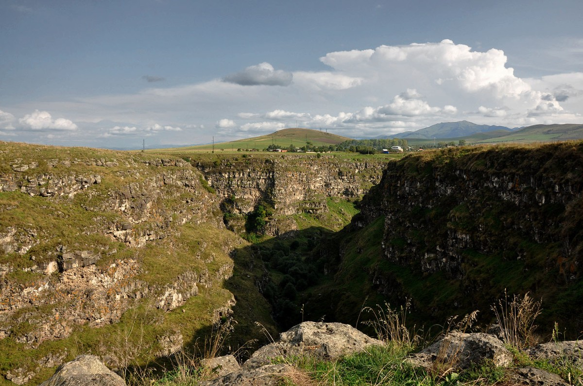 Armenia: The Deep Gorge Of Dsoraget And Lori Berd Fortress
