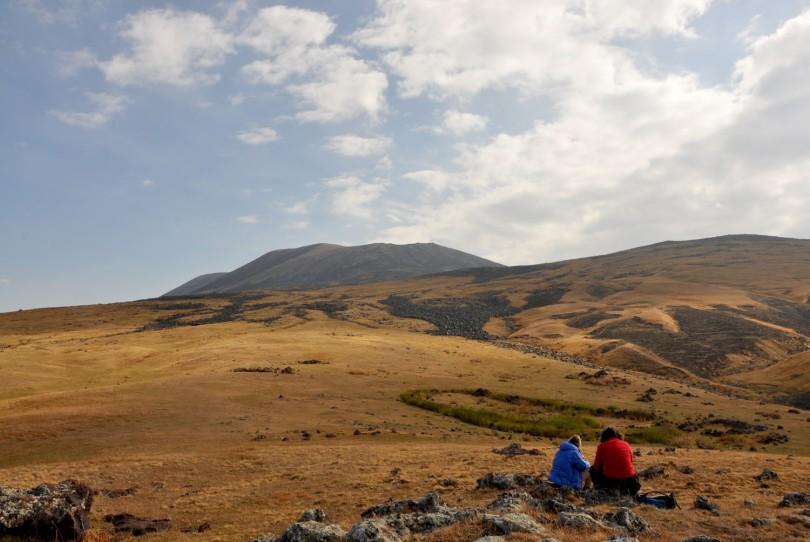 Armenia Landscape near Mount Azdahak
