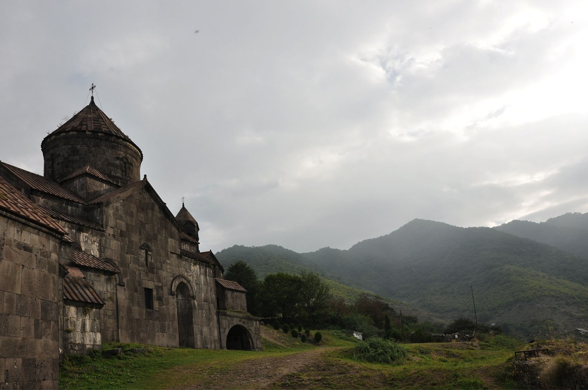 Armenia: Haghpat Monastery In The Morning Mist