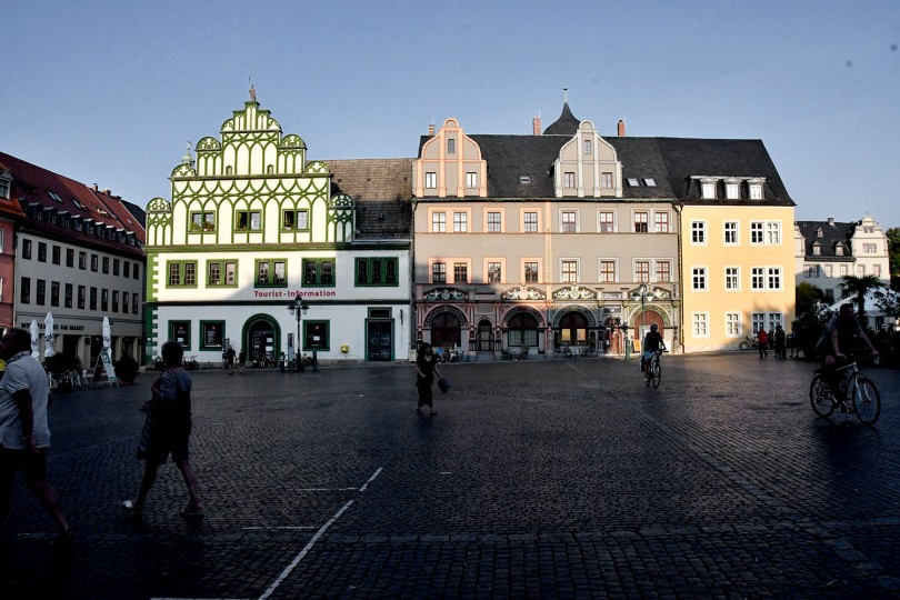 Weimar Old town